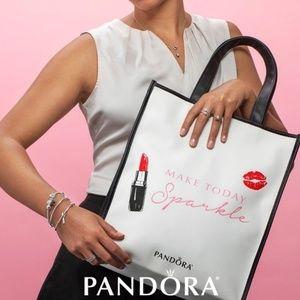 "Pandora ""Make Today Sparkle"" Tote Bag"